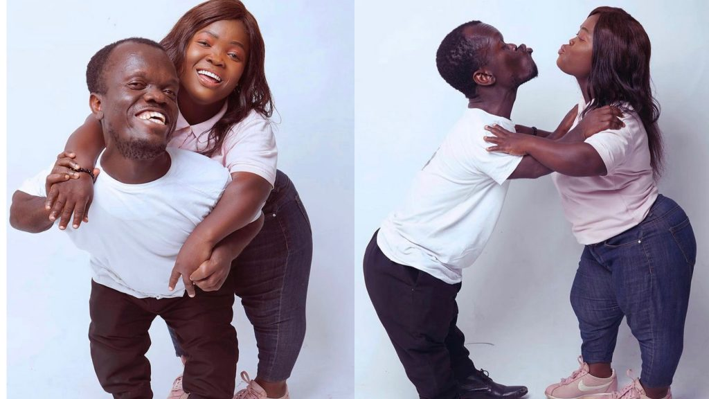 Diminutive Couple cause stir with their adorable 'Save The Date' photos