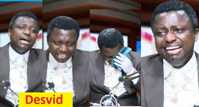 Prophet Opambour in trouble for showing Sȇx-tapȇ on live TV