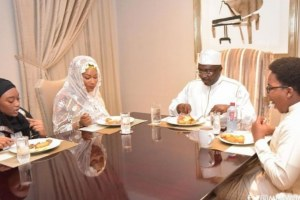 Check out what Samira Bawumia did for her Husband as he marks his 58th Birthday